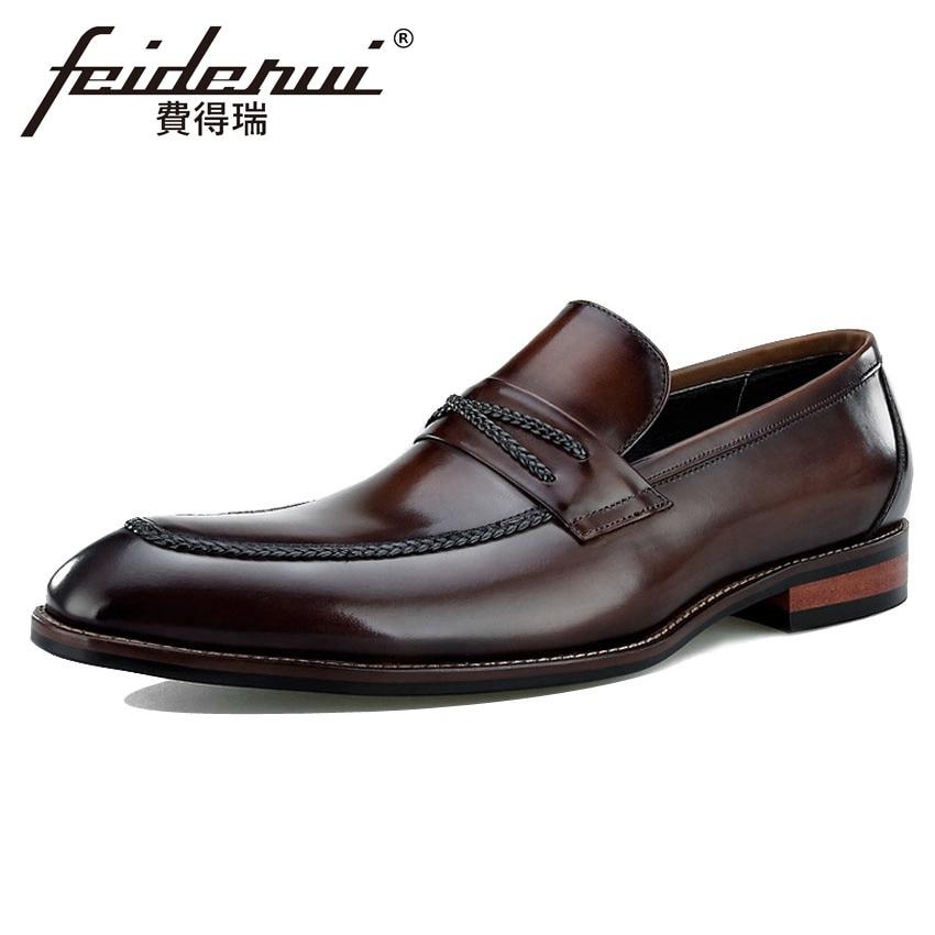 New Luxury Genuine Leather Men