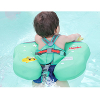0 6 years Baby No Need Inflatable Child Underarm Swimming Waist Ring Floats Pool Swim Circle Safety Tools Anti turning Rings