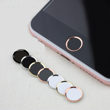 Горячая, алюминиевая наклейка с сенсорной идентификацией для iPhone 8, 7, 7, 6, 6s Plus, 5S, поддержка распознавания отпечатков пальцев, разблокировка сенсорного ключа