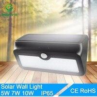 GreenEye Waterproof LED Solar Light 5W 7W 10W 2835 SMD Ip65 Solar Power Outdoor Solar Lamps