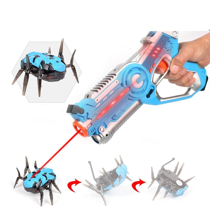Children Blaster Laser Battle Pistol Infrared Laser Tag Gun Toys Gun Brinquedos For Kids Adults Outdoor Fun & Sports Toy Gift
