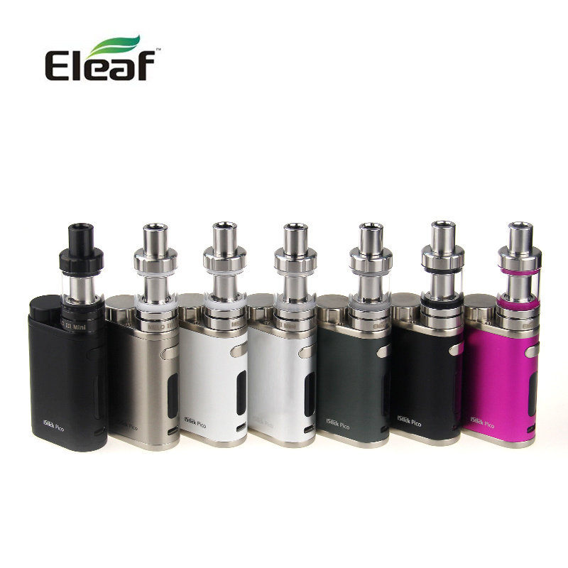 ISTICK PICO Mod 100% Original Eleaf ISTICK PICO Kit 75W Firmware Upgradeable Mod 2ml/4ml MELO 3 tank or MELO 3 mini Atomizer