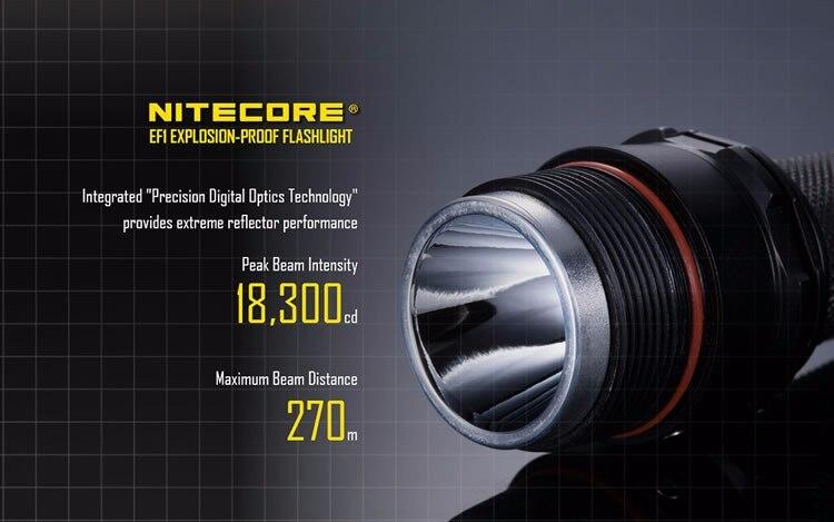 explosão led lanterna tática protorch ex d