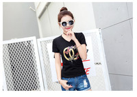 M22 T Shirts Chill Moon Tops Tee for Gothic Girl Pastel Goth Aesthetic Clothing CL2