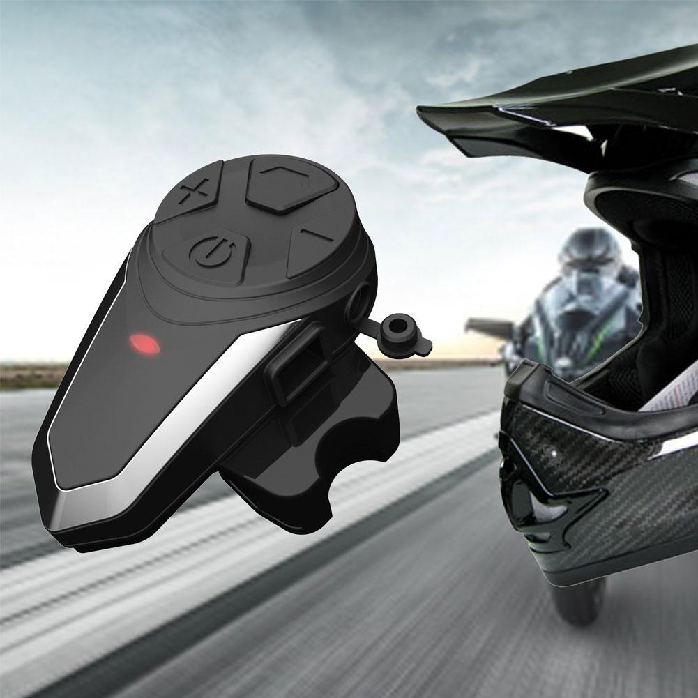 S3 2.4GHz DSP 1000M Motorcycle Helmet Bluetooth Waterproof Headset Communication Interphone Intercom Moto