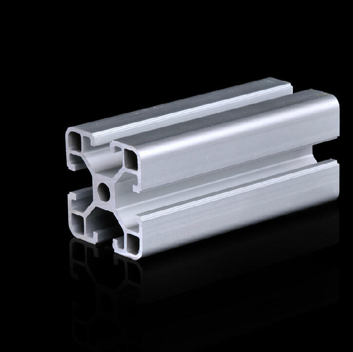 4040 Aluminum Profile Extrusion Pipe grade 6063 L=500mm All Sizes in Stock 4142 flat stock 3in wx18in l