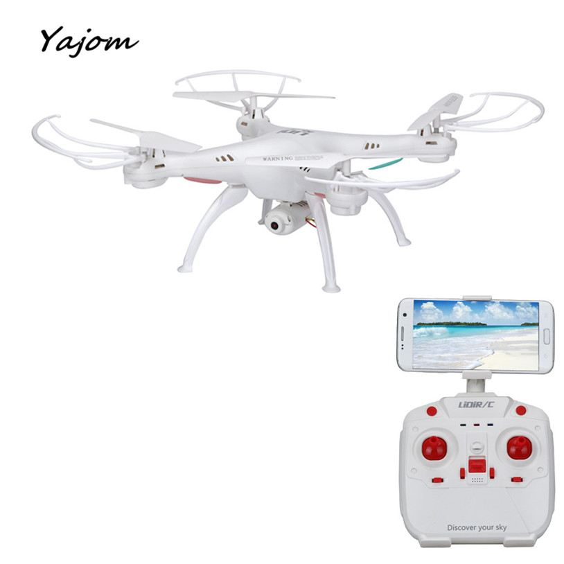 цены  2017 New Hot Sale LiDiRC L15W 4CH HD Camera WiFi FPV 2.4G 6-axis Gyro RC Quadcopter Altitude Hold Brand New High Quality Mar 1