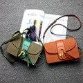 Бесплатная доставка 2017 Новых прибытия женщин сумки Простой лоскут повседневная Европа мода люкс натуральная кожа женщины сумки