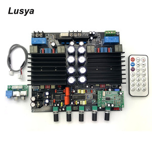 Tda8954-й 2,1 Bluetooth HIFi Цифровой усилитель плата класса D 210 Вт + 210 Вт Собранный усилитель LM1036 + NE5532 усилитель плата C6-003