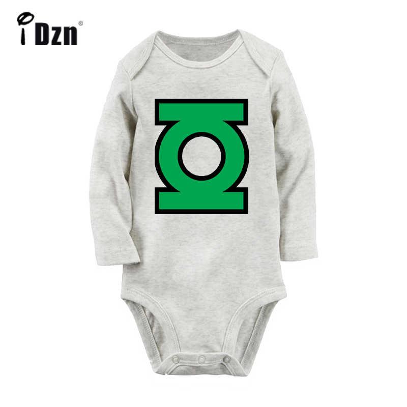 Желтый фонарь Sinestro корпус Hal Jordan мужчины в черном MIB серый новорожденный Детский боди костюм малыш Onsies комбинезон хлопковая одежда
