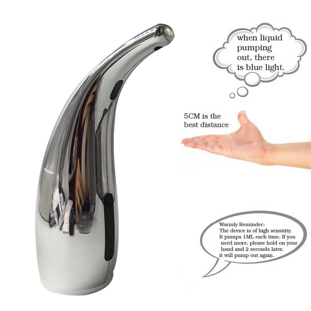 300ml ABS Automatic Smart Sensor Liquid Soap Dispenser Kitchen Bathroom Gadget