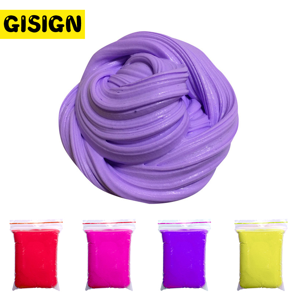 30g Playdough Fluffy Slime Beads Floam Soft Light Clay Modeling Polymer Clay Dynamic Sand Plasticine Rubber Toy small strain dynamic properties modeling for cemented sand