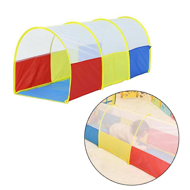 Outdoor Sports Play House Toy Tent Arched Short Tunnel Tube Portable Children Tent Kids Ball Pool Baby Playpen Educational Toy