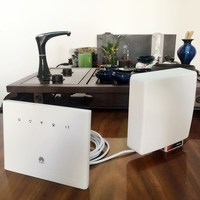 Huawei B310s 22 LTE CPE Router Unlocked to any network,Plus huawei original outdoor SMA antenna