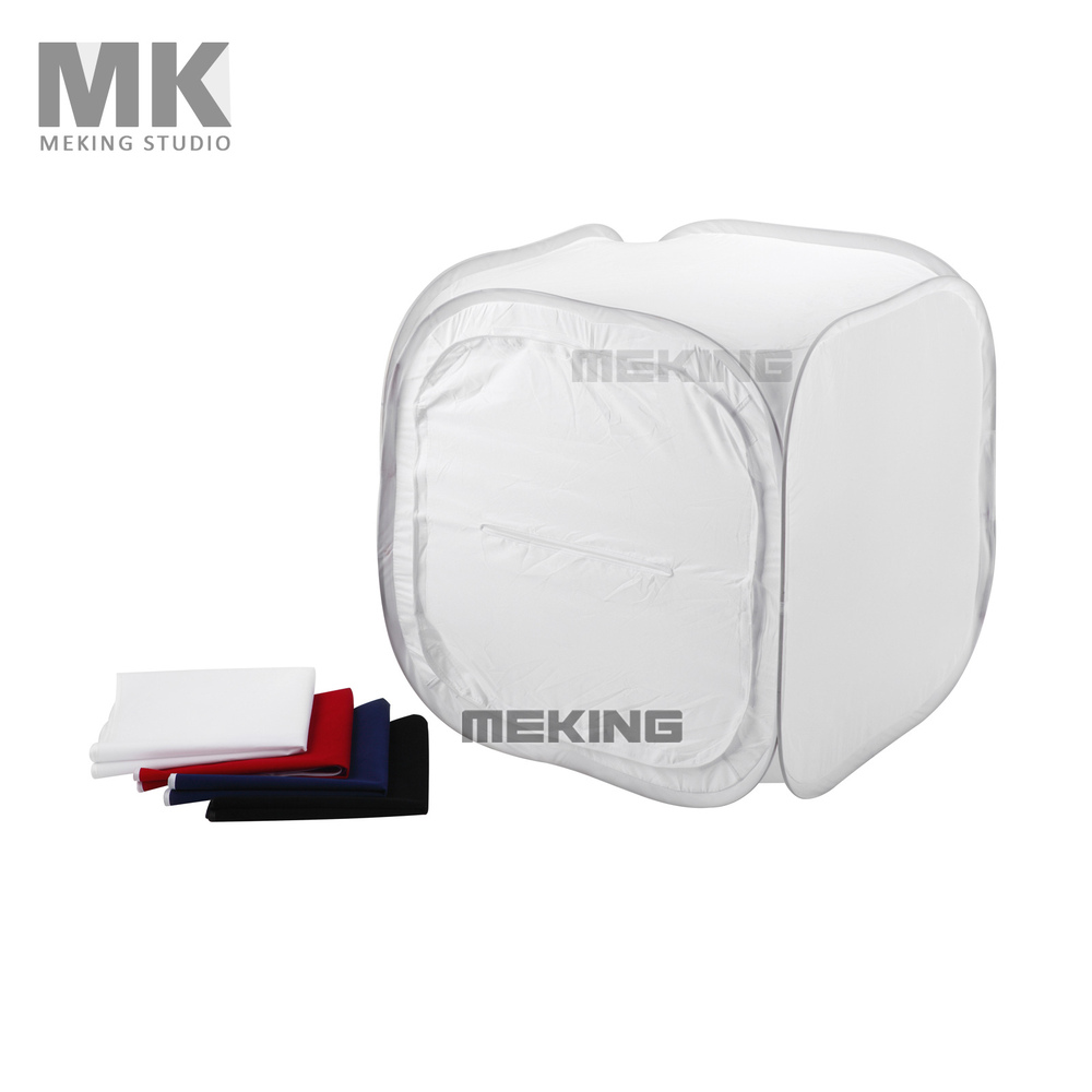 120cm 48 4 Backdrop Folding Portable Photo Video Box Lighting Studio Shooting Tent Box Kit Diffuse