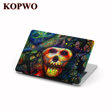 KOPWO Halloween Series Computer Notebook Replace Cover Laptop Protective Case for Apple Macbook New Air Pro 11 12 13.3 15.4 Inch