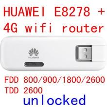 Открыл huawei E8278 4 г 150 Мбит/с lte 4 г беспроводной USB модем e8278s-602 4 г Wi-Fi палку для mac android pad pk e8372 e3372 e3276