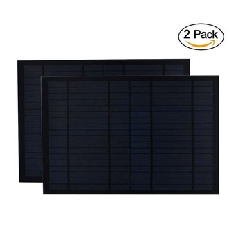 2pcs/lot Solar Panel 18V 20W 10W 0.55A