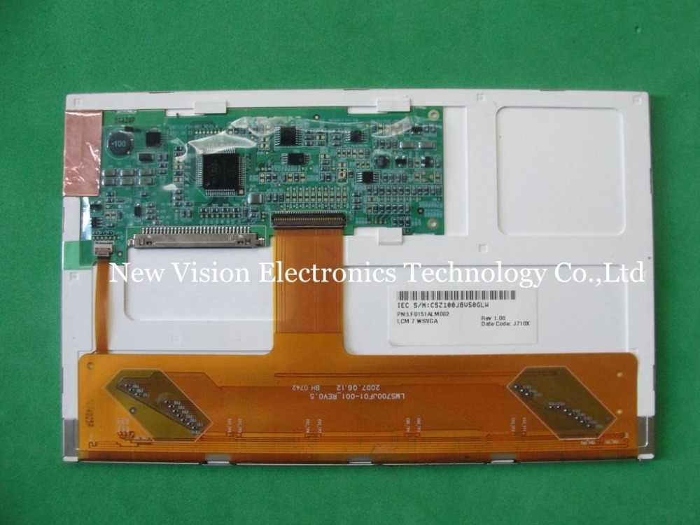 LMS700JF01-001 LMS700JF01 الأصلي A + الصف 7 بوصة LCD عرض مع شاشة تعمل باللمس لسامسونج