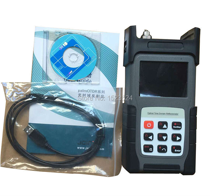 JW3302C Singlemode 1310/1550nm 24/24dB Optical Time Domain Reflectometer Fiber Optic OTDR