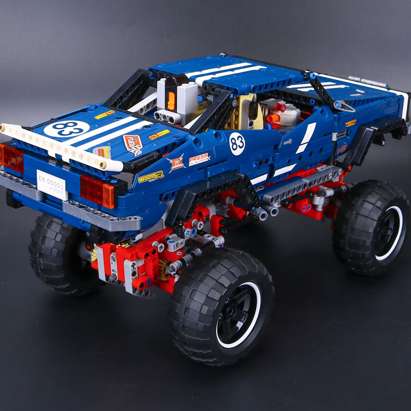 LEPIN 20011 technic series Super classic limited edition of off-road vehicles Model Building blocks Bricks Compatible 41999 Gift lepin 20011 technic series remote control electric off road vehicles set diy model car building kits blocks bricks children toys