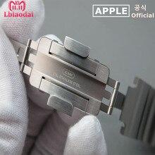 Оригинальный ремешок для Apple Watch группа 42 мм 38 iwatch 4/3 группа 44 40 браслет из звеньев нержавеющая сталь