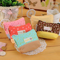 New 2015 Fresh Flower Coin Purses Portable Creative Women Coin Bag Lady Key Wallets Canvas Gift Wallets Small Purse
