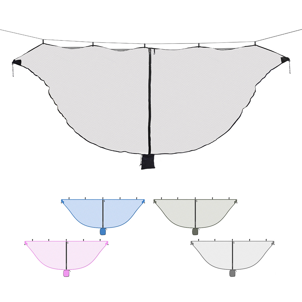 Image 5 - Ultralight Hammock Mosquito Net Outdoor Camping Breathable Anti Mosquito Mesh Tent Net-in Tents from Sports & Entertainment