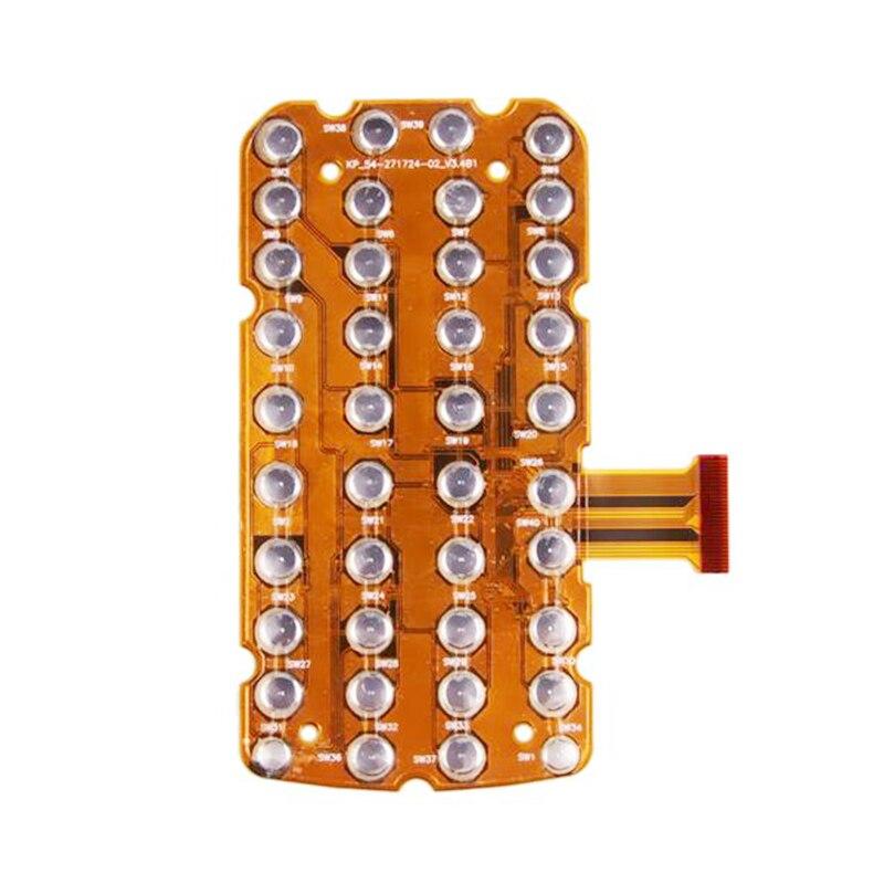 10 個/1 ロット新交換 38 キーキーモトローラ記号 MC3000 3070 3090 MC3190 携帯情報端末キーパッド