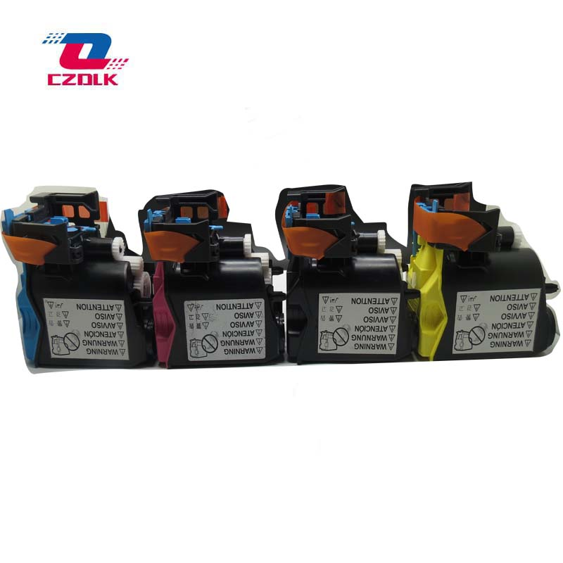 1set X New compatible toner cartridge for Konica Minolta bizhub C25 C25P C35 C35P K M
