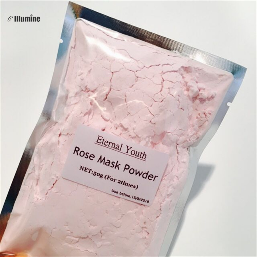 Natural SPA Quality Rose Facial Peel Off Mask Powder Soft Powder Face Mask Scars Acne Control