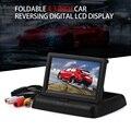 Monitores de Carro Universal 4.3 Polegada TFT Lcd Rear View Cor Do Painel Do Carro Monitor de Tela Digital de Vídeo de Visão Traseira Do Carro jogador