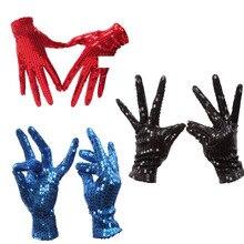 Перчатки на запястье с блестками для взрослых на Хэллоуин, вечерние, танцевальные, сценические, детские, унисекс костюм, модный подарок для девочек и мальчиков