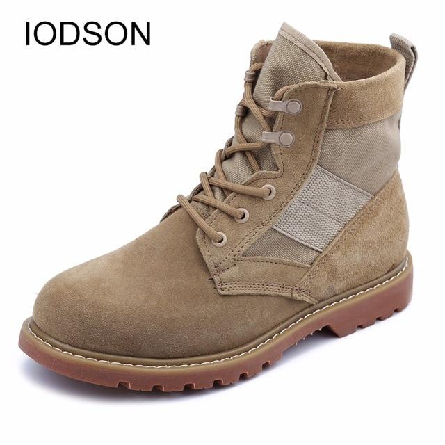 592a191a3fda8 Herren Military Stiefel/Ultraleicht Kampf Stiefeletten/stoßdämpfende  Taktische Stiefel/Atmungs Spcial Kraft Ausbildung armee Schuhe