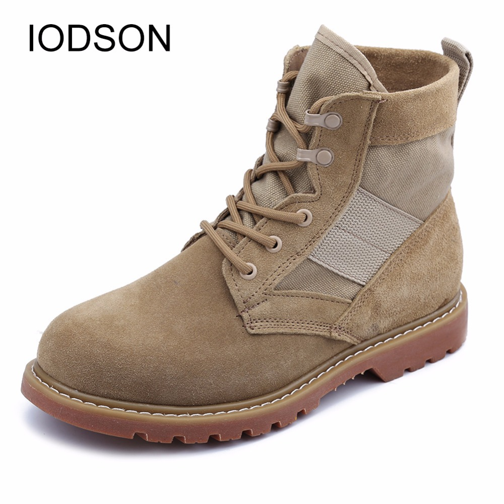 346bdf75fb6 Men's Military Boots/Ultralight Combat Ankle Boots/Shock absorbing ...