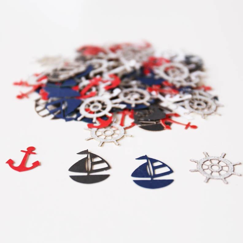 Aliexpresscom Buy Nautical Party Decor Picnic Table Confetti - Picnic table anchors