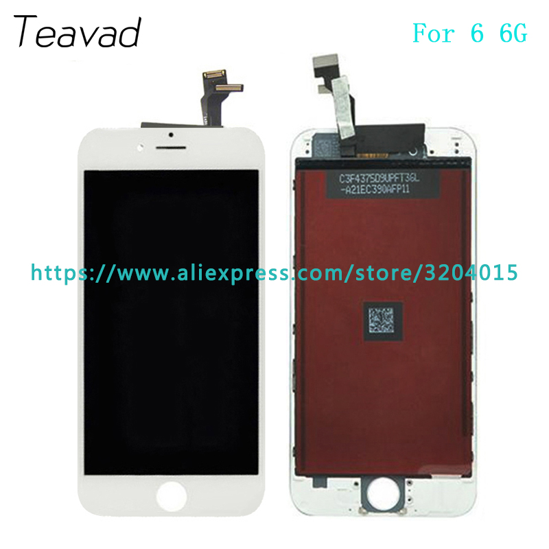 High quality LCD Display Screen With Touch Screen Digitizer Assembly For iphone 6 6G 4.7 or 6 Plus 5.5 Repair Parts ...