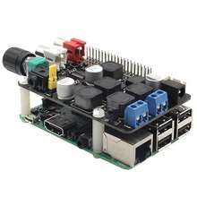 X400 Full-HD Audio Expansion Board for Raspberry Pi 3 Model B/ Raspberry Pi 2 Model B/ B+ Expansion Board