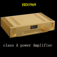 2017 Voice king Hood 1969 glod sealed the most perfect version of the HD1969 class A power amplifier 10W+10W HiFi amplificador