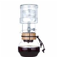 Única válvula de vidro percolators café/400 ml potes domésticos conjunto de ferramentas de café de café do gotejamento de gelo