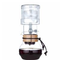 single valve glass coffee percolators/400ml ice drip coffee pots set household coffee tools