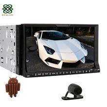 QuadCore Android dvd dell'automobile 2din universal Car DVD Player 2 din Stereo GPS Navigation autoradio android 4.4 volante controllo