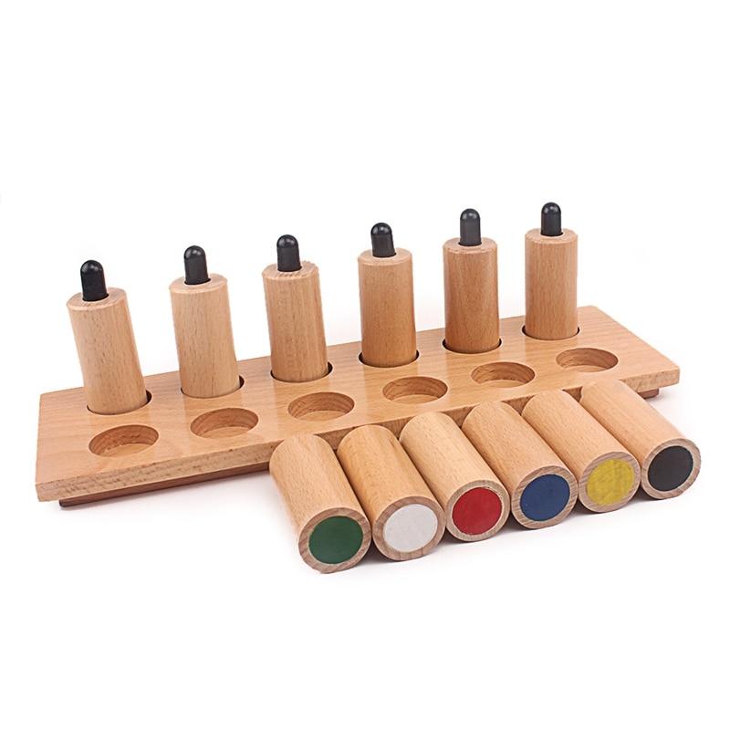 Bébé jouet Montessori pression cylindres jouets sensoriels éducation de la petite enfance préscolaire enfants jouets 2-4 ans Brinquedos Juguetes