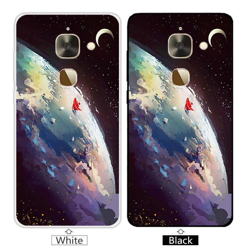 5.5 inç Leeco Le 2X527 Için Telefon Kılıfları Yumuşak Temizle TPU Yeşil Kapak Için Letv Le S3 X626 /Le 2 Le2 Pro X620 Ince Silikon Çapa