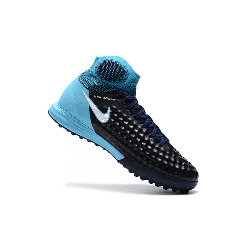58058c3a9a34 ... NIke MagistaX Proximo II TF Soccer Sneakers Blue Outdoor Lawn High  Quality Men Football Shoes 843958 ...