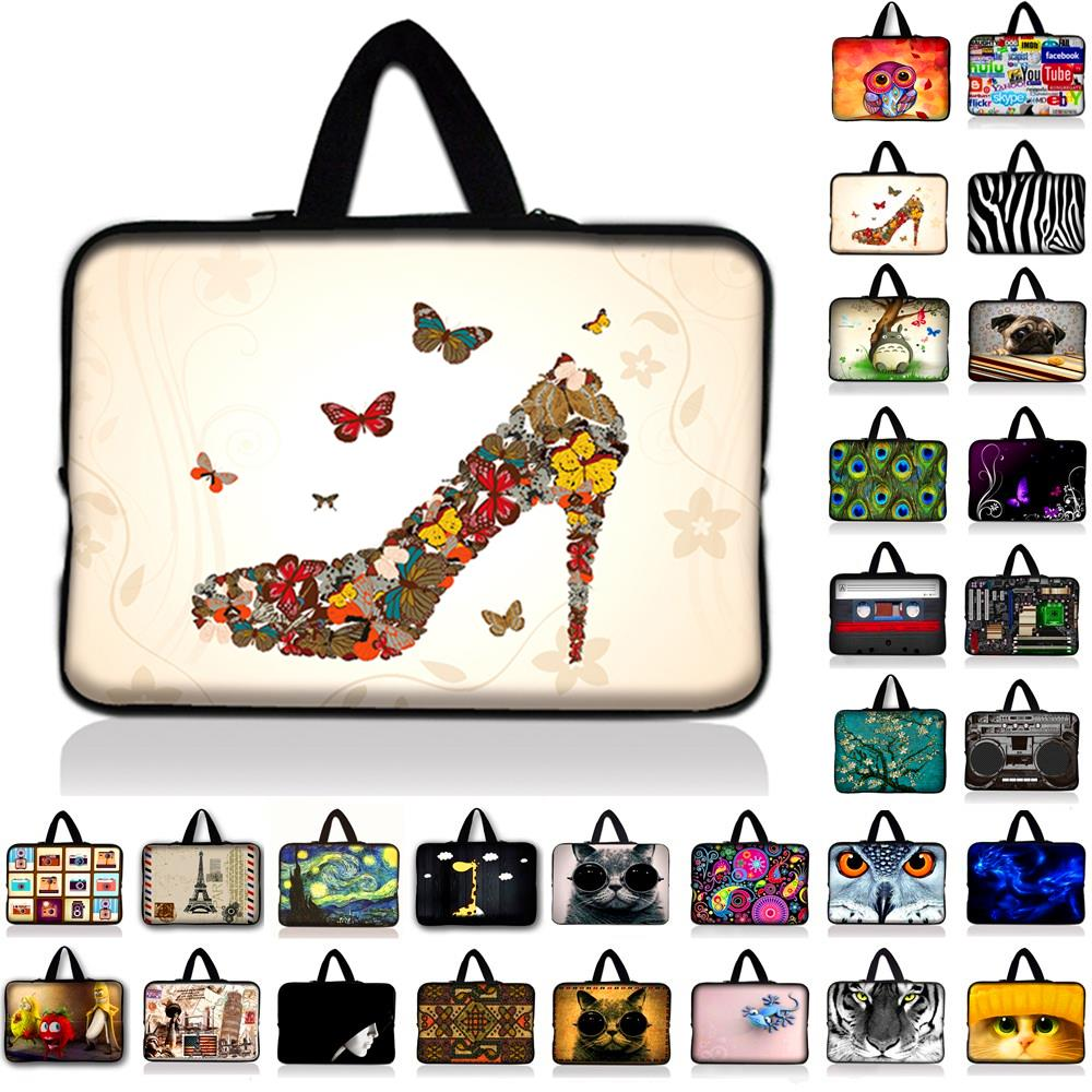 7 10.1 12 13.3 14 15.6 17.3 inch Laptop Bag Neoprene Pouch Cover Bags For Tablet Mini PC Fashion Case For Lenovo HP ASUS #