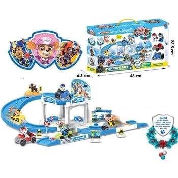 Kids Car Track | Paw Patrol Dog Track Car Toy Set Patrulla Canina Juguetes Action Figures Patrol Puppy Patrol Play Set Dog Kids Gift Toy