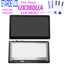 13.3'' for Asus Zenbook UX360U UX360UA LCD Screen Touch Digitizer Assembly 3k UHD 3200*1800 laptop panel LP133QD1 SPB2 40 PIN 15 6 touch glass digitizer lens for asus zenbook flip ux560 ux560ua q503 q524u q524uq laptop