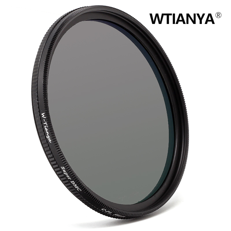 WTIANYA 40.5mm SLIM Circular Polarizer / Polarizing Multicoated MC CPL Filter for 40.5 mm Mirrorless Camera Lens