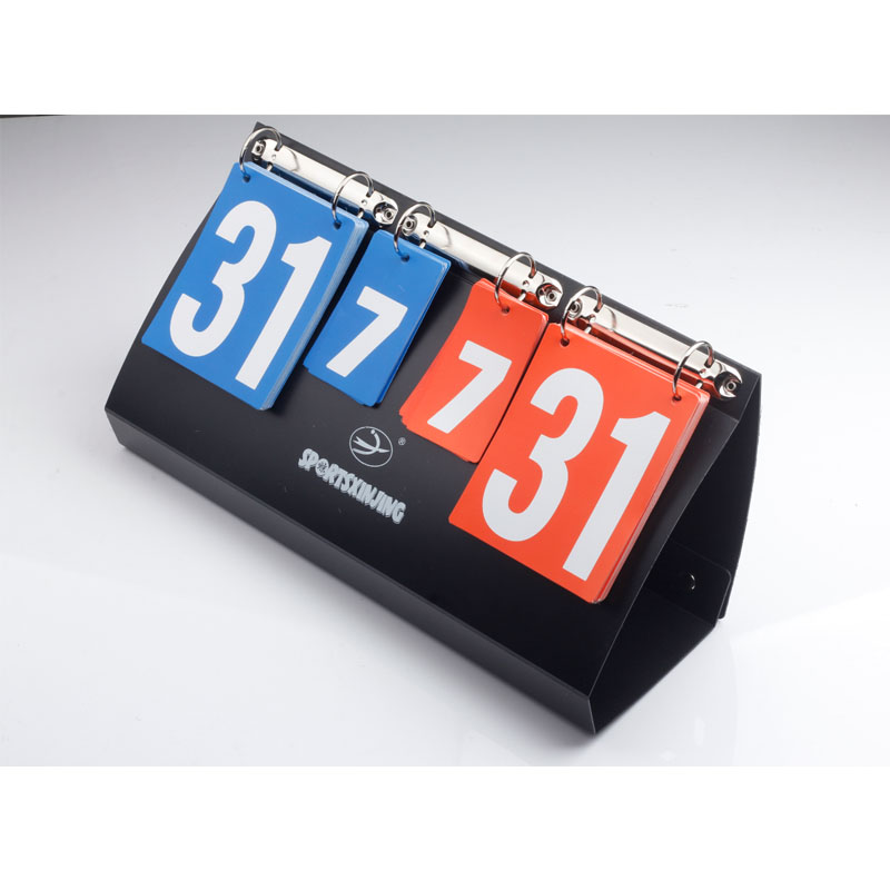 Basketball Score board 4 digit folding Portable football scoreboard handball volleyball tennis Sports score board Wholesale